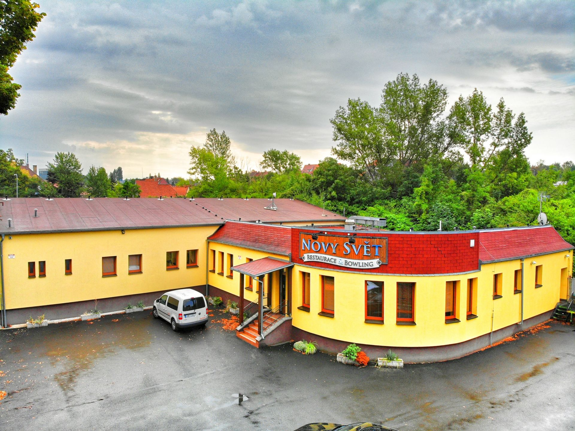 Prodej restauračního a bowlingového centra Louny
